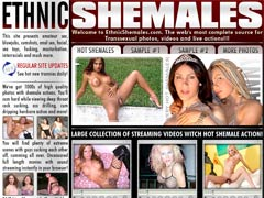 Large Collection of Streaming Videos With Hot Shamale Action!