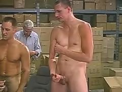 Guy fucking blonde shemale in boots